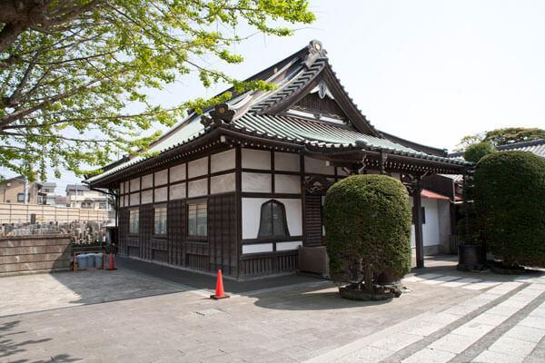 浄土宗、延命寺。