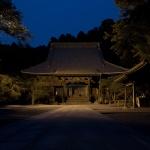 夜の妙本寺。いい場所です。