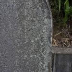 白山神社の参道ある石塔群の一番手前、鎌倉市有形民族文化財の庚申塔には、寛文12年(1672年)と刻まれています。