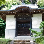 徳川家康、その父松平廣忠の位牌が収められた宝蔵。
