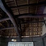 旧石井家住宅の天井部分。