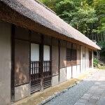 龍寳寺境内に移築されている江戸元禄期の民家。