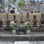 三浦道香主従七武士之墓