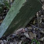 巡礼古道にある奉納塔。安永年間と彫られています。