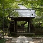 寿福寺、中門。