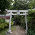 熊野神社(大船)の鳥居。