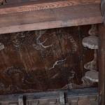 常楽寺仏殿天井の雲龍図。狩野雪信の作といいます。