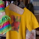 SOUK SOUK SOUK。ヘンプのTシャツ。風通しがよくて風合い抜群です。
