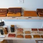 kitchi、財布などのコーナー。