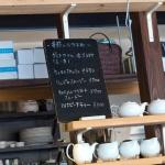 Rakaposhi(ラカポシ)の店内。季節のおすすめドリンク。普段のメニューにないものもあります。