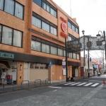 江ノ電鎌倉ビルと御成通り