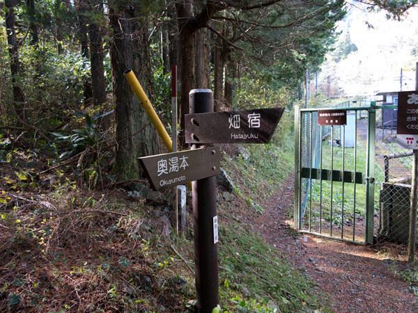随所にある道標。道に迷うことはないと思います。