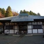 箱根、長安寺の本堂。