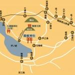 箱根神社地図。