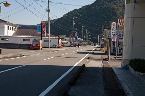 葉山の町がみえてきました。午後1時25分。