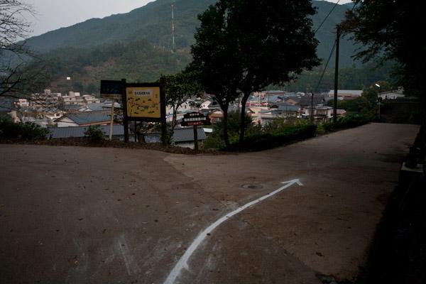 街なかにも「脱藩の道」道標が設置されていますから、それに沿って進みます。