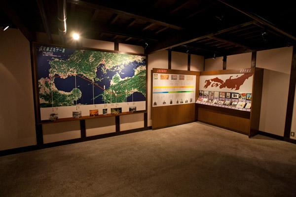 ふるさとの宿に隣接する脱藩之日記念館。