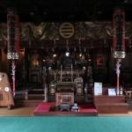 佐奈田霊社社殿の内部。