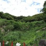 大町釈迦堂口遺跡の正面からは入れません。