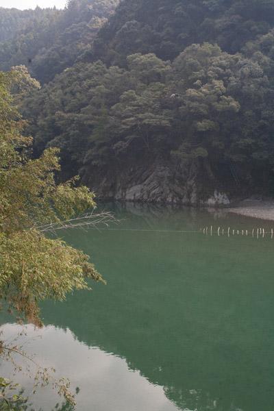 旧宿間村(亀ノ甲)から長浜港み向けて龍馬は、この川を舟でいきました。