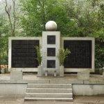 日露戦争以後、幾多の祖国の危急に際して尊い身命を捧げた英霊の慰霊碑。大東亜戦争はもとより、今日にいたるまで日本は祖国を守る為だけに戦争をしてきました。この慰霊碑にも深々と頭を垂れ、手を合わせてきました。
