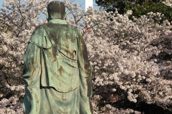 平成29年(2017年)4月13日、午後4時頃の長勝寺。