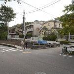 杉本寺からみた犬懸橋。