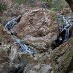 復路、二重滝。【大山阿夫利神社】