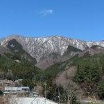 道志村の景観。