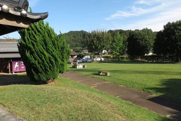 源頼朝公配流の地、伊豆蛭ヶ小島にある蛭ヶ島公園。