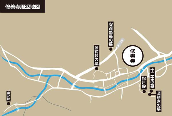 修善寺略図